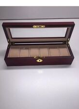 Matt Finish Wooden Watch Box--