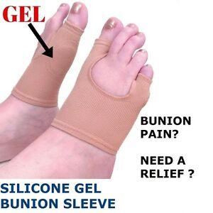 GEL Bunion Pad Protector Toe Separator Straightener Alignment Pain Relief