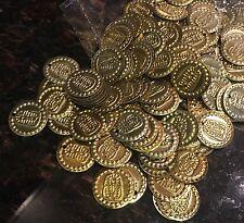 50 Egyptian Metal Coins Beads Belly Dance Gypsy Sewing King Tutankhamun