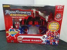 Hasbro 2004 Transformers Energon NISB Brand New Wing Saber Powerlinx Sealed