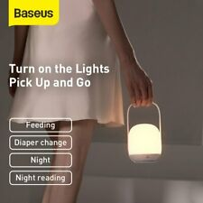 Baseus LED Night Light 3000-5000K Dimming Kids Baby Bedside Desk Lamp Home Decor
