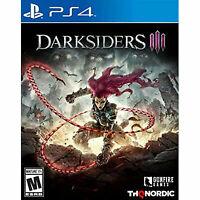 Darksiders III 3 PS4 (Sony PlayStation 4, 2018)