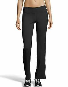 Hanes Sport Women's Performance Pants Cool DRI Comfort Open bottom Comfort Flat