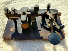 Vintage Signal Electric M-110 Learner Model Telegraph Key