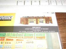 SUPERQUICK MODEL KIT - B34 - BUS DEPOT - 00 & HO GAUGE - NEW TO RANGE