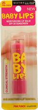 Baby Lips Moisturizing Lip Balm  Shade # 25 Pink Punch