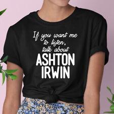 Ashton Irwin Camiseta/5SOS/Divertido/Novedad/100% algodón/Unisex