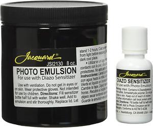 Photo Emulsion Diazo Sensitizer Silk Screen Printing Art Craft Accessory Kit 8oz