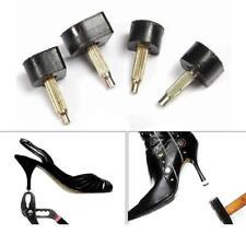2pcs High Heel Shoe Dowel Stiletto Repair Replacement Tips Taps Pins Lifts Black
