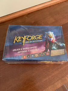 Keyforge Age of Ascension Deck Display (12 ct.) NEW FACTORY SEALED