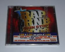 RAP & R'N'B NON STOP 2008 (CD + DVD) NEUF SOUS BLISTER . 18 Titres + 14 Clips