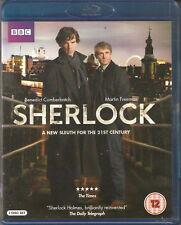SHERLOCK - Series 1. Benedict Cumberbatch. BBCTV (2 Disc Blu-ray Set 2010)