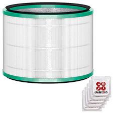 DEPURATORE DELL'ARIA Dyson Filtro Hepa 360 Ventilatore da tavolo Pure Hot + Cool Link + Deodoranti