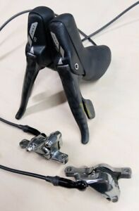 SRAM Red 22 Shifters/Brake Levers + Post Mount Hydraulic Disc Calipers Hydro