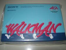 Sony NW-A100TPS 40th Anniversary Digital Media Player Walkman + 256GB SD Card