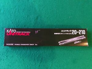 Kato N Scale 20-210 Double Crossover Track