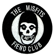 Misfits Fiend Club Embroidered Patch M028P Danzig Circle Jerks Exploited Clash