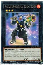 Battlin' Boxer Cheat Commissioner MP14-EN160 X 3 Mint  1st  YUGIOH Rare