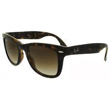 Ray-Ban Sunglasses Folding Wayfarer 4105 Light Havana Brown Gradient 710/51 M