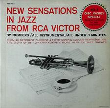 NEW SENSATIONS IN JAZZ FROM RCA VICTOR -SPL-12-41 - 2 LP SET-  PROMO - 32 TRACKS