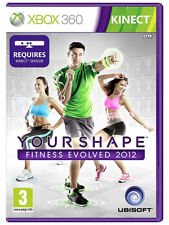 Your Shape Fitness Evolved 2012 ~ XBox 360 Kinect Game (in Good Condition)