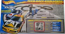 NASCAR Tech Race Challenge Hot Wheels TYCO CAT Dodge CITCO Ford Burton Race Set