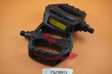 F3-100813 Coppia PEDALI BMX 1/2 Filetto PICCOLO RESINA Ciclo Bicicletta Bici