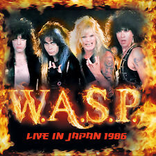 W.A.S.P. - Live In Japan 1986. New CD + Sealed. **NEW**