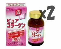 Lot2! Fine Pure Collagen 375tablets  x2 bottles (total 50days), Q10 and VitaminC