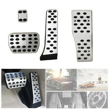 AMG Alloy Pedal Covers Set Fit for Mercedes Benz A E C S GLK CLK  W210 W211 W212
