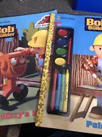 Bob the Builder book lot / coloring book / activity book  Paint It Dizzy Days