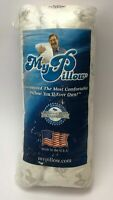 """My Pillow King Classic White Firm 16.5"""" x 32"""" + 2"""" (See Description)"""