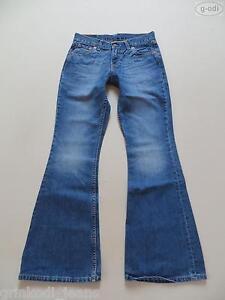 Levi's® 544 Flare Schlag Jeans Hose, W 27 /L 32, TOP ! Hippie Style Denim, RAR !