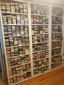 8-Track Tapes Store - 1000s++ Working & Serviced, U PICK, ROCK & ROLL List 3-A