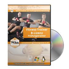 Prüfungsfragen Fitnesstrainer-B-Lizenz mit über 760 aktuelle Lernfragen