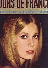 jours de france 476 - couverture catherine deneuve - decembre 1963 -
