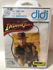 Leap Frog Didj Custom Gaming System Indiana Jones Math Facts  New Sealed