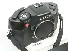 Leica R8 black body mit Gurt und Anleitung voll funktionsfähig fully functional