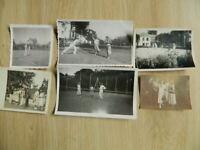 Foto Antigua Tenis Lote 36 Fotografía