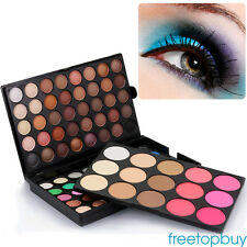 95 Colors Eyeshadow Textured Pallete Faced Matte Make up Eye Shadow Palette