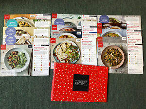 Gousto Recipe Folder With 15 Recipe Cards - No Duplicates Chicken Beef Lamb Veg