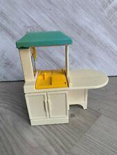 Little Tikes Kitchen Cooker Sink Dolls House Miniature Furniture Vintage Toy