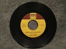 """45 RPM 7"""" Record Stevie Wonder Why Dont You Lead Me To Love 1968 Tamla T-54165"""