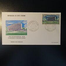 COTE D'IVOIRE N°295 SUR LETTRE COVER 1er JOUR FDC