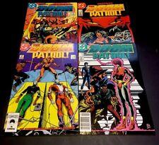 DOOM PATROL 1-4 2 3 1st Print DC Comics Lot 1987 Steve Lightle FN