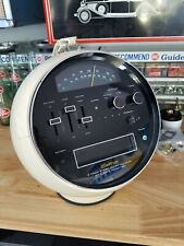 Vintage Weltron Model 2001 White Space Ball Radio 8 Track Player