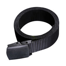 Canvas Web Belt for Man Automatic Buckle Casual Style Non-Metallic Canvas Belt