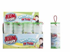 4 Sport Shuttle Cock Play Activity Badminton Adult White Game Outdoor Ball Game