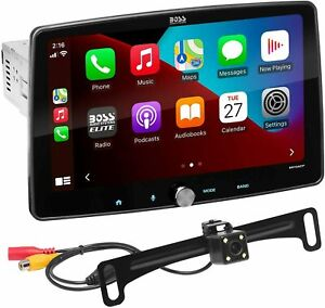"""BOSS Audio Elite BE10ACP-C 10"""" XL Car Stereo Receiver Apple CarPlay Android Auto"""