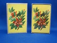 Vtg Park Avenue Gilt Edge Playing Cards Flower Floral Image Sealed Deck w/ Box